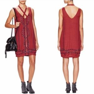 Free People Snakes and Diamonds Dress | small